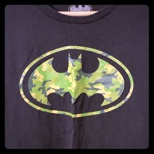 DC Comics Shirts - Batman camouflage logo T-shirt, 5XL
